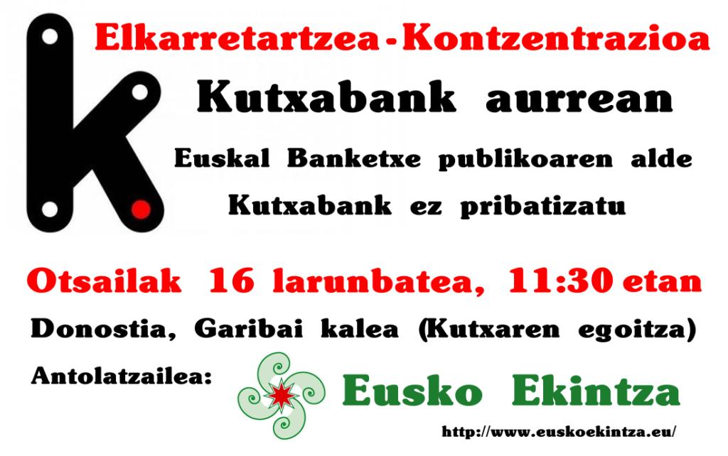 kutxabank-ez-pribatizatu